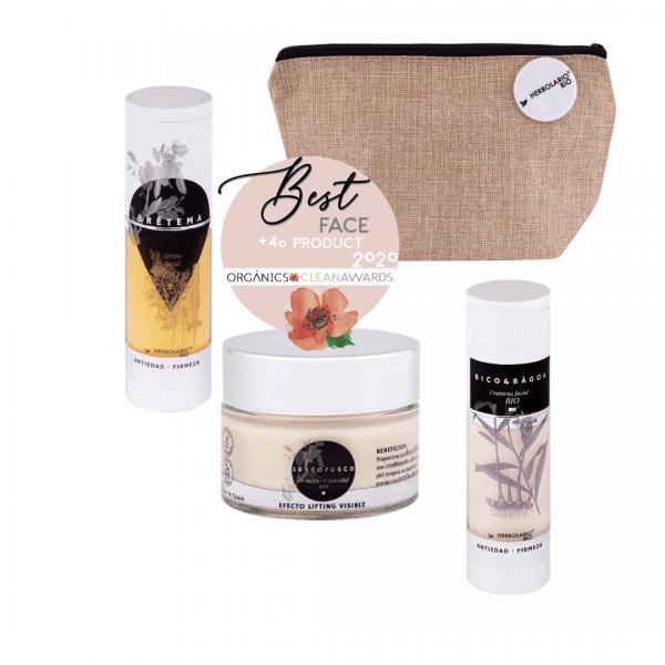 Pack de cosmética ecológica facial anti-edad de HERBOLARIO BIO