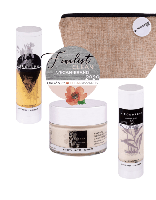 Pack de cosmética ecológica facial hidratante de HERBOLARIO BIO