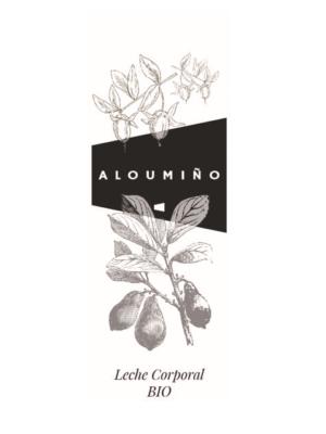 ALOUMIÑO LECHE CORPORAL - ALOUMIÑO CREMA CORPORAL - HERBOLARIO BIO cosmética