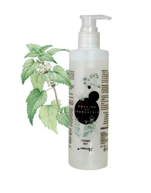 champú - cosmética natural certificada