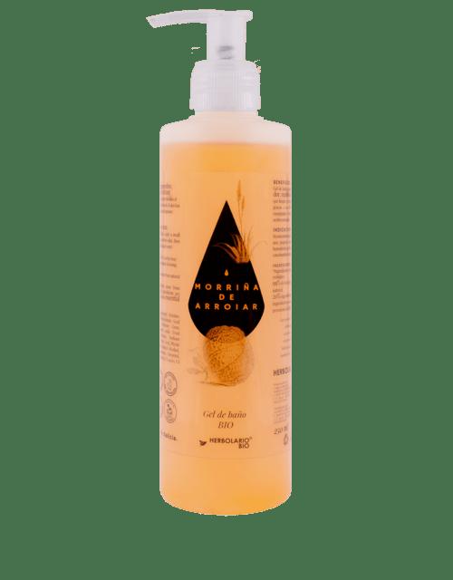 Gel de baño ecológico MORRIÑA de ARROIAR - Comprar online gel de baño de HERBOLARIO BIO