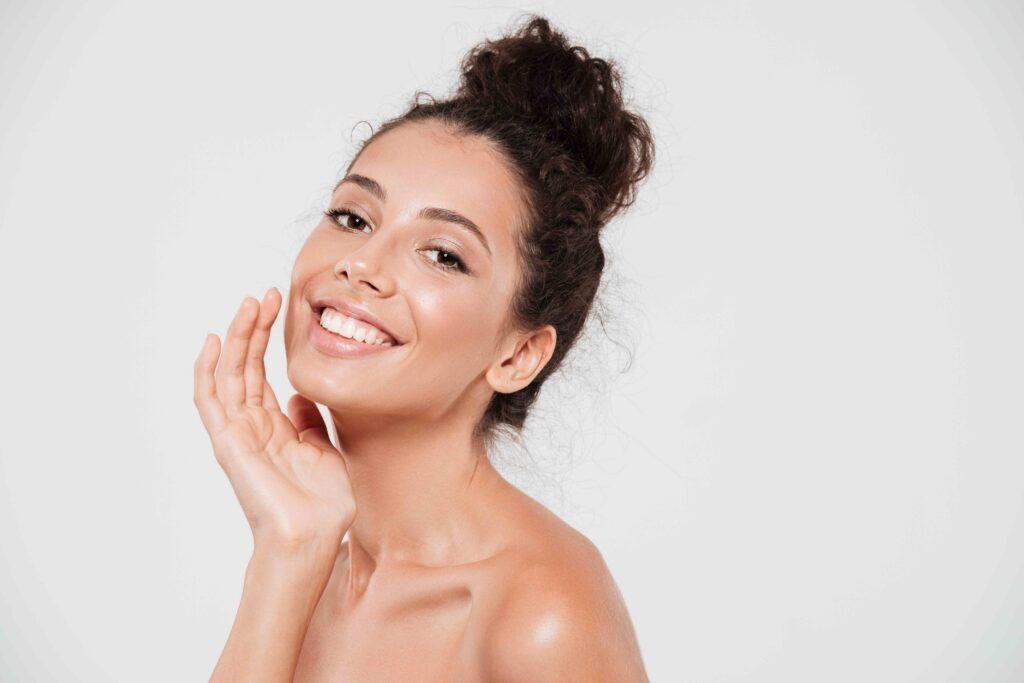 cuidado de la piel con cosméticos naturales